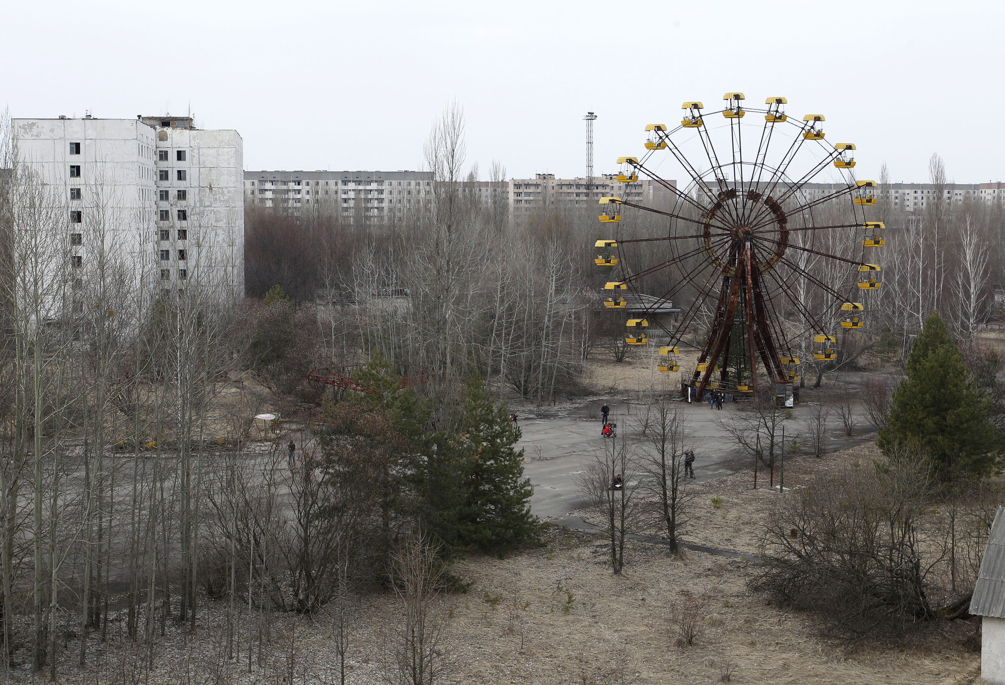 Chernobyl nuclear disaster - 1986