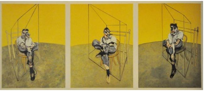 $142,4 million. Three Studies of Lucian Freud by Francis Bacon, 1969.