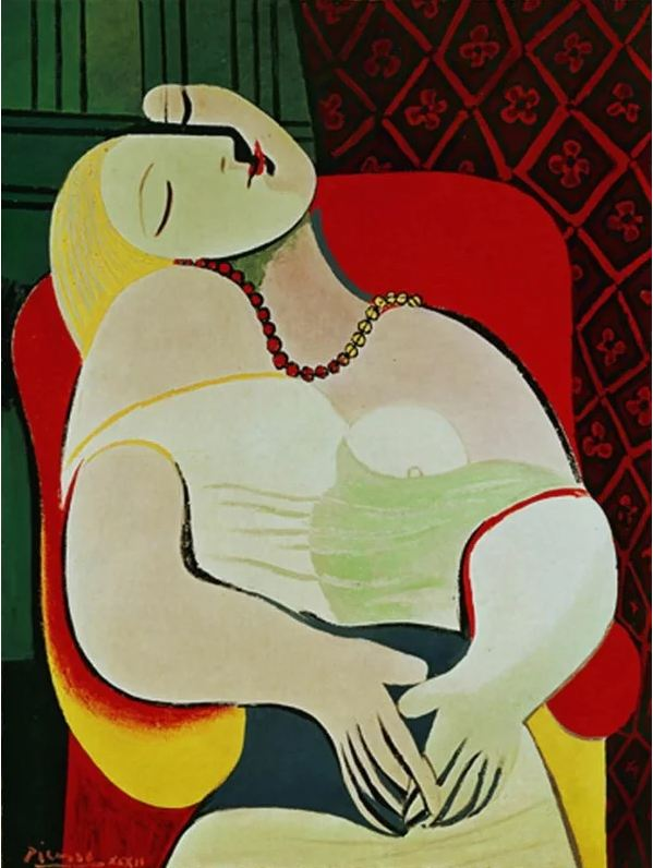 $155 million. La Rêve (The Dream) by Pablo Picasso, 1932.