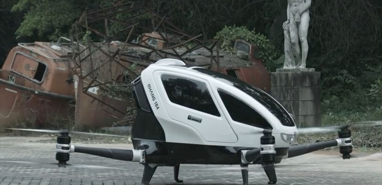 Drones with space for passengers