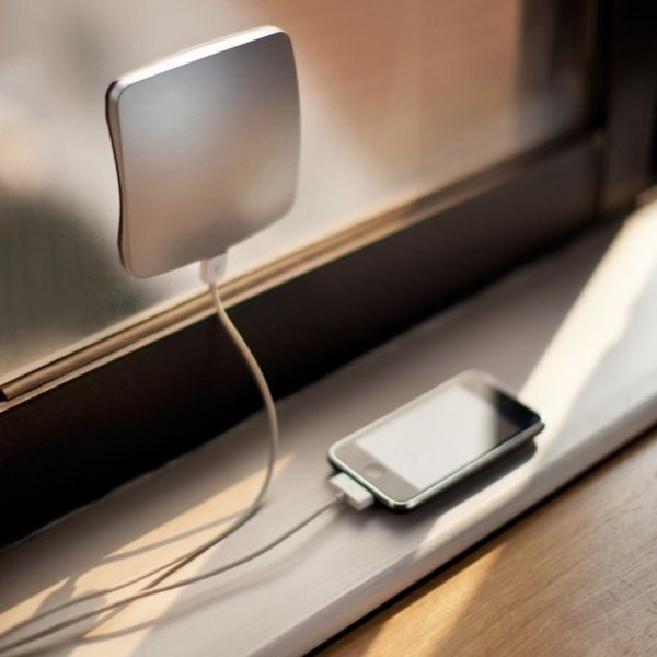 Portable charger using solar power