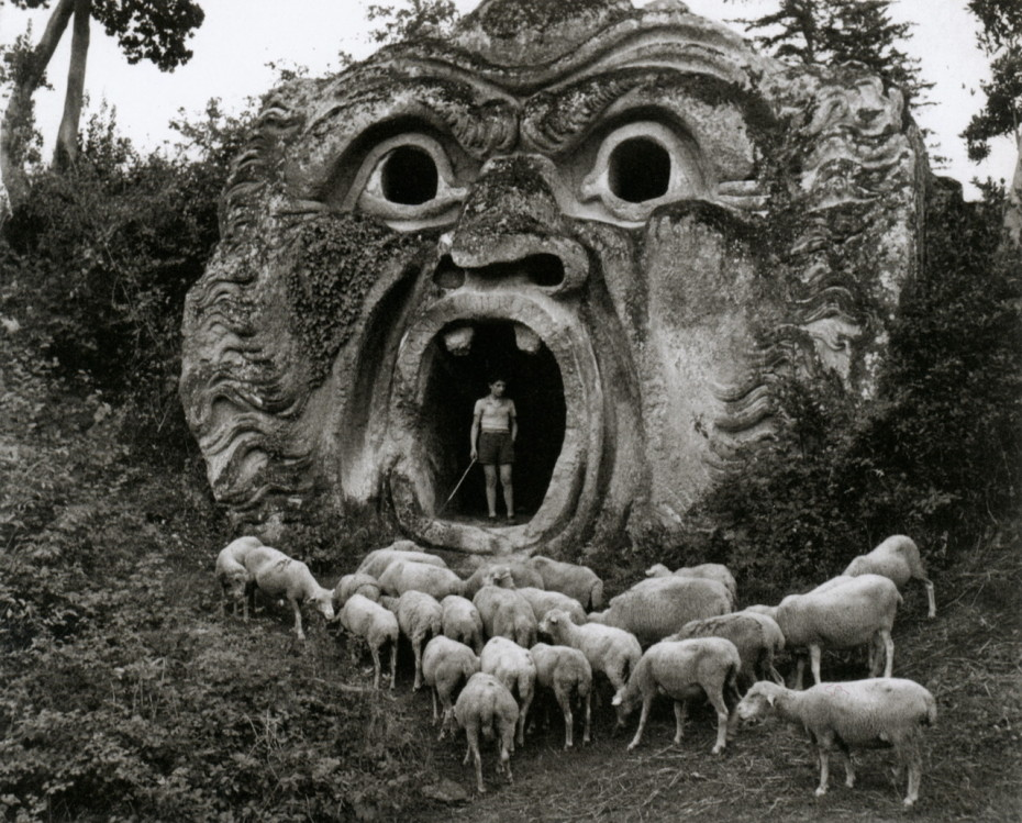 Monster's Park is a real place in Bomarzo