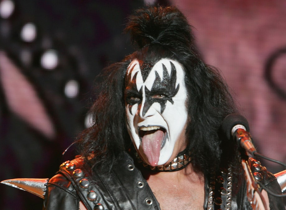 Gene Simmons of Kiss had a Cow's tongue grafts