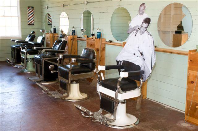 The barber shop where Elvis Presley cut his hair