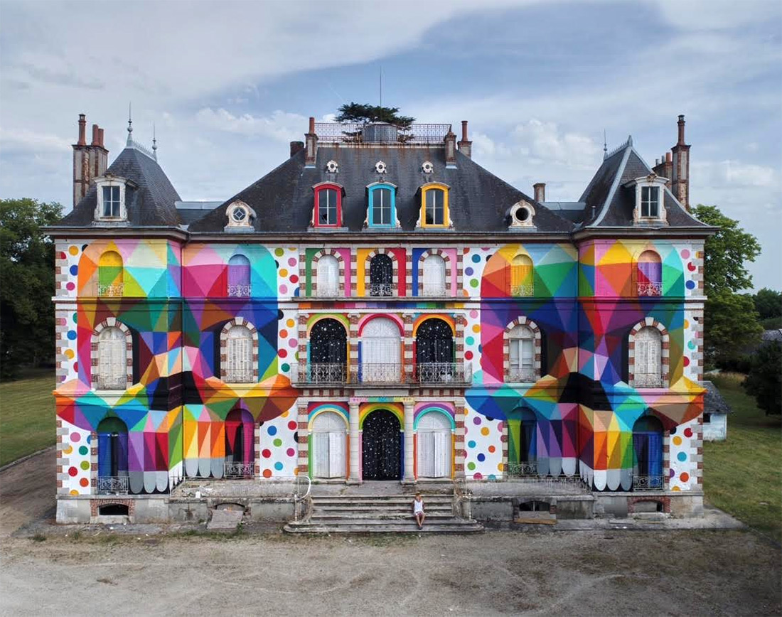 The transformation of a 19th century French castle