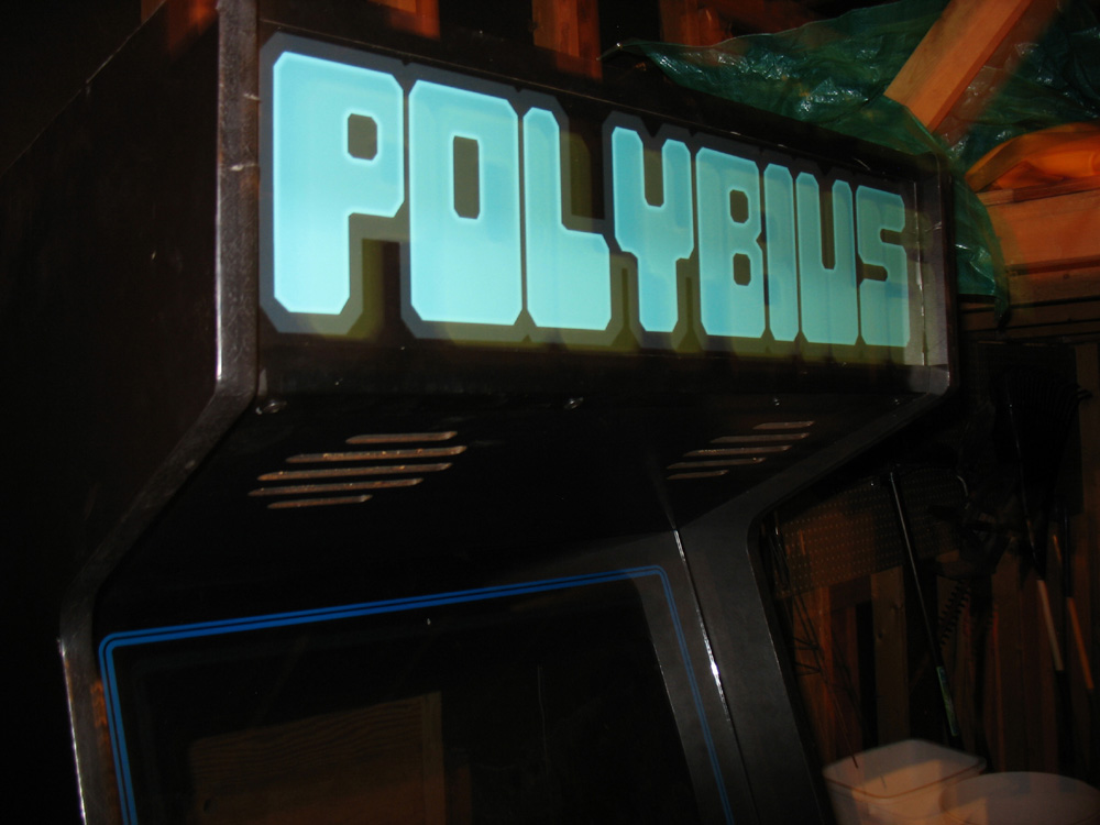 The video game Polybius enchanted those who played it