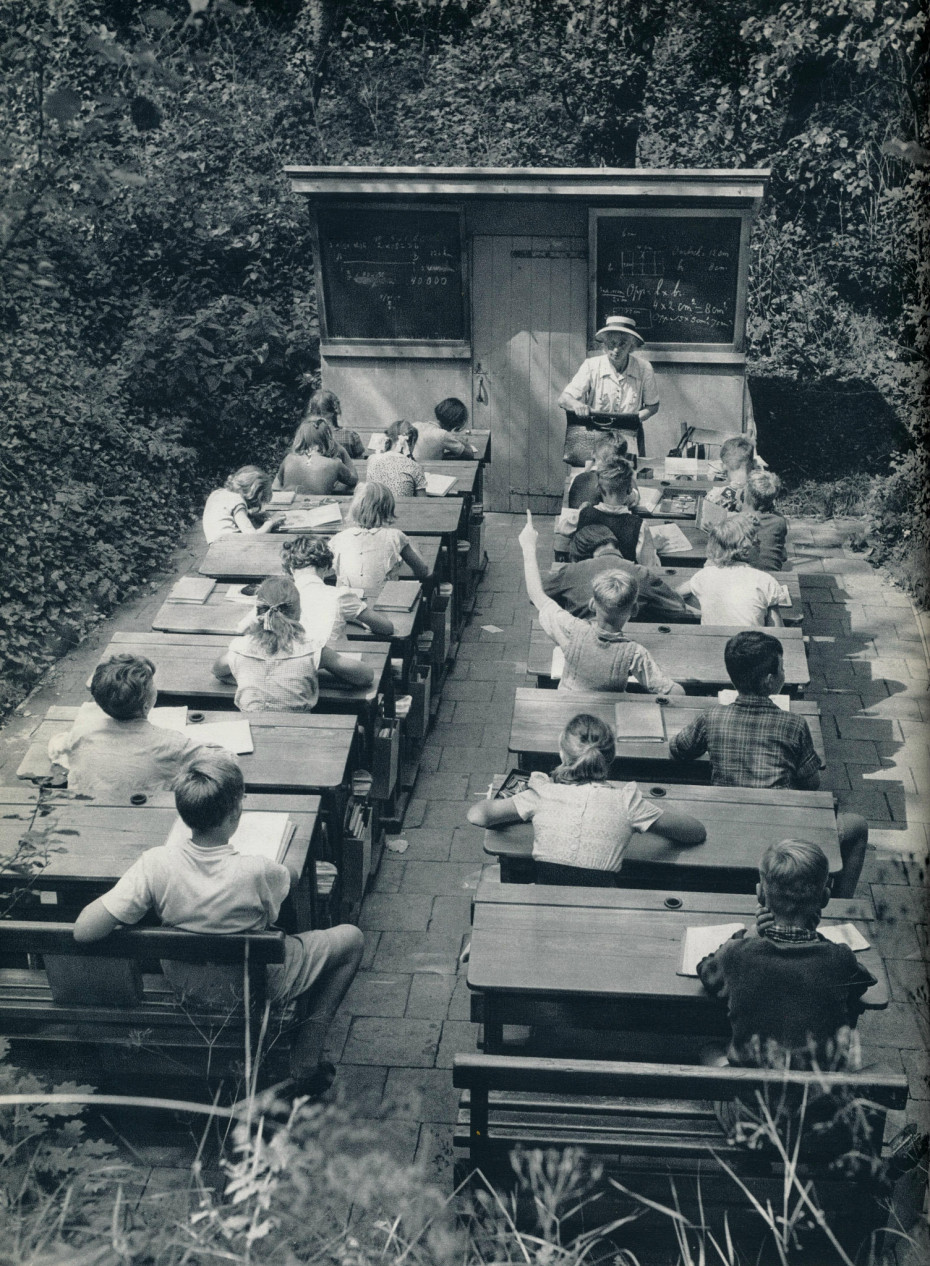 Outdoor Schools in the Netherlands - 1957