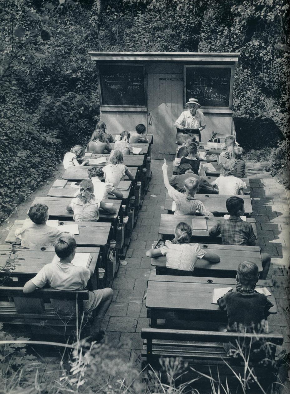 Outdoor Schools in the Netherlands - 1957