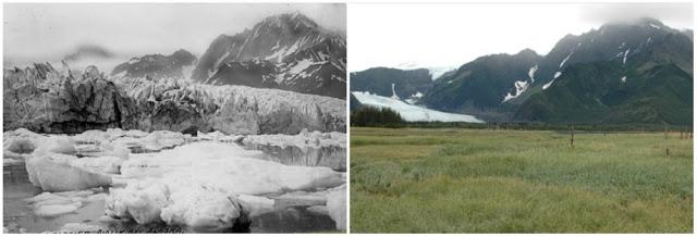 Glacial Penderson, Alaska, USA