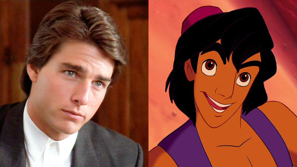 Aladdin is an exact copy of Tom Cruise