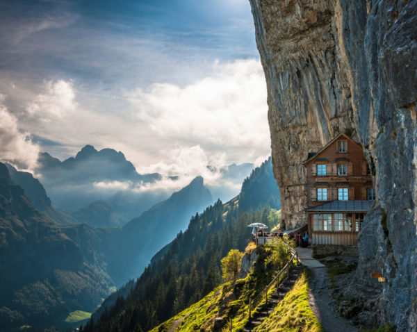 Cliffside views - Switzerland