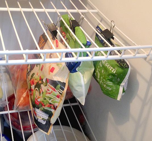 Organized freezer!