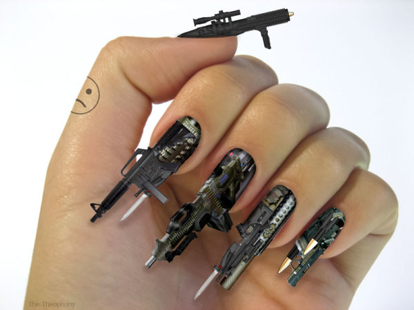 Weapon nails