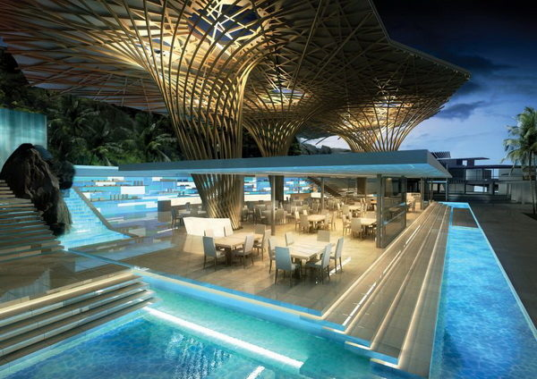 Bar/pool