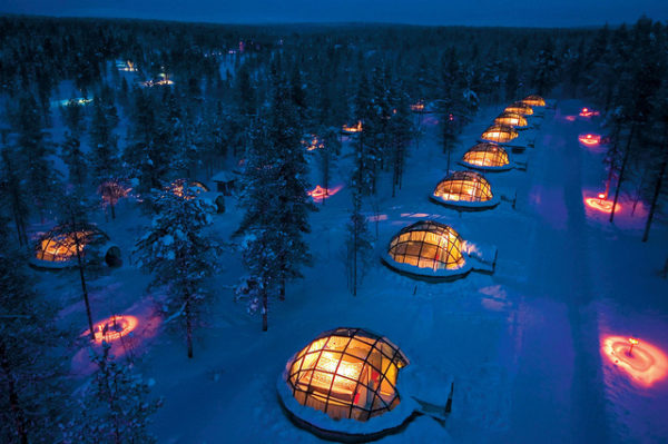 Luxury igloo - Finland