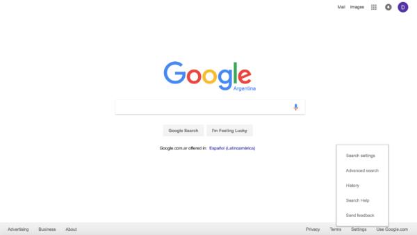 Let's set up Google first
