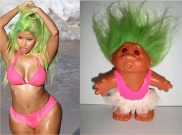 Nicki Minaj's new hairstyle!