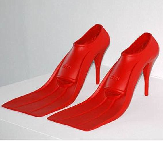 61a38f16e89 The weirdest shoes in the world!
