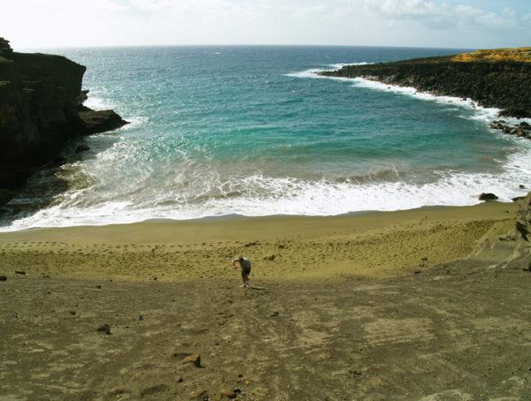 Green Sand InKourou,French Guiana