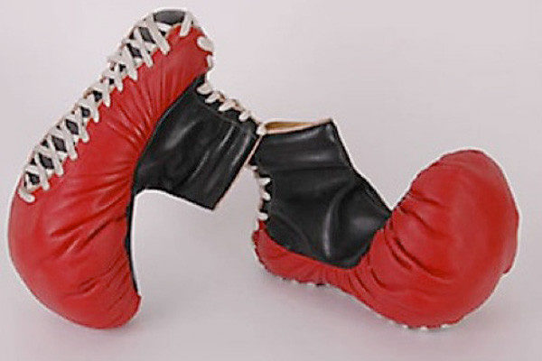 6. Boxing glove shoe