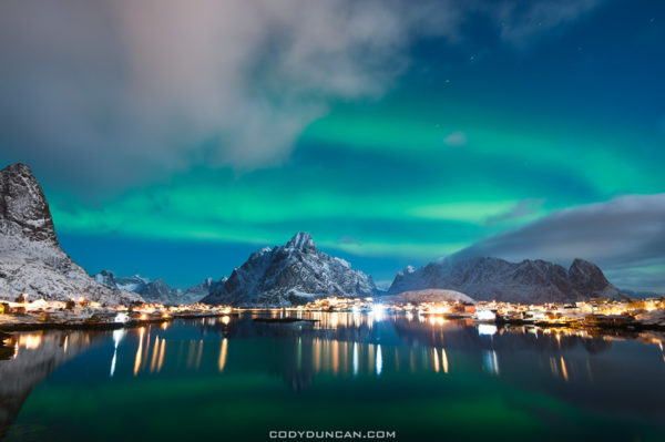 Aurora in Lofoten Islands, Norway