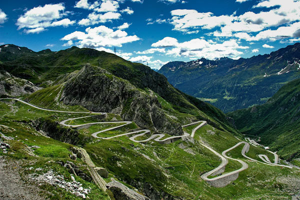 The Gotthard Pass (Gotthard), Switzerland