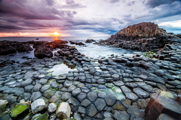 A Causeway of Giants, Ireland