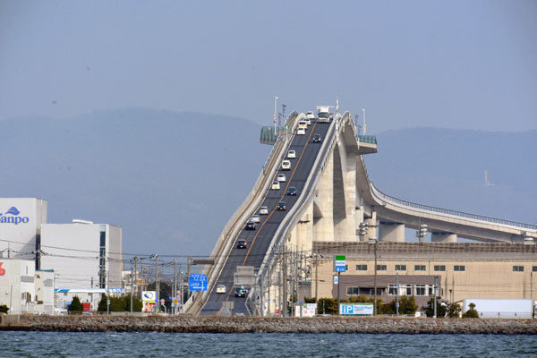 The Bridge of Eshima Ohashi, Japan