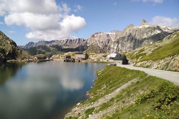 Great San Bernardo, Alps, Switzerland-Italy