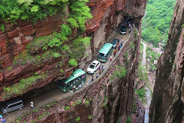 Guoliang Tunnel, China