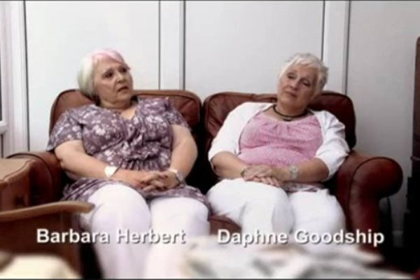 Barbara Herbert and Daphne Goodship