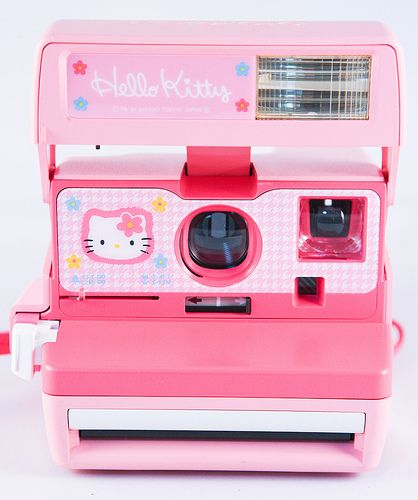 Shake it like a Polaroid picture girl!