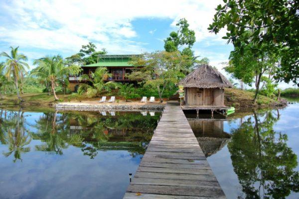 16. Private island