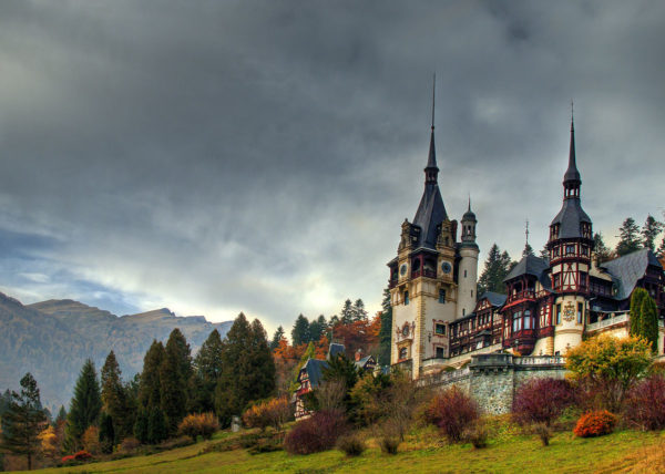The Peles Castle in Romania