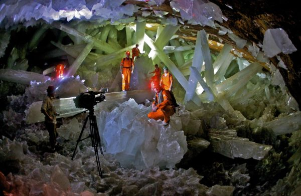 The Cave of the Crystals, Mexico