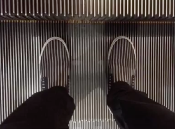 Mechanic stairs or shoes?