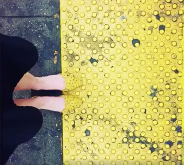 Subway platform and shoes 2.0!