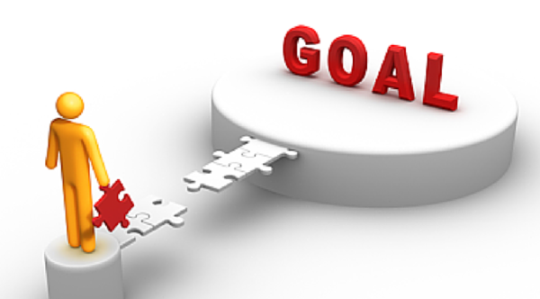 Think of your goals and picture yourself achieving them