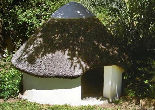 Mushroom hut!