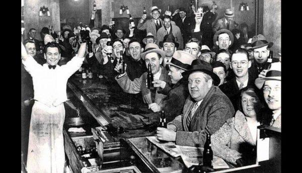 13. Prohibition ending