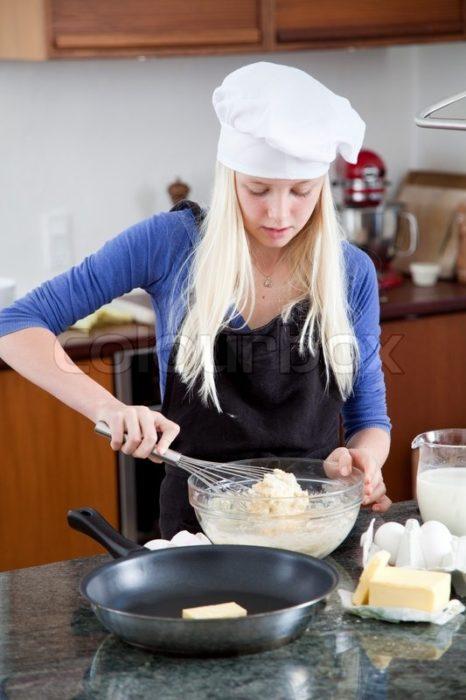 Cook something sweet