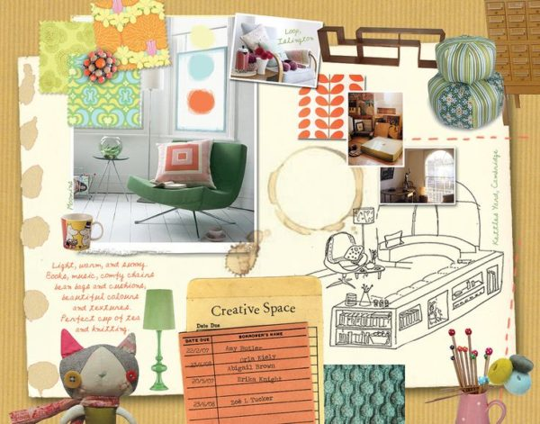 Create moodboards