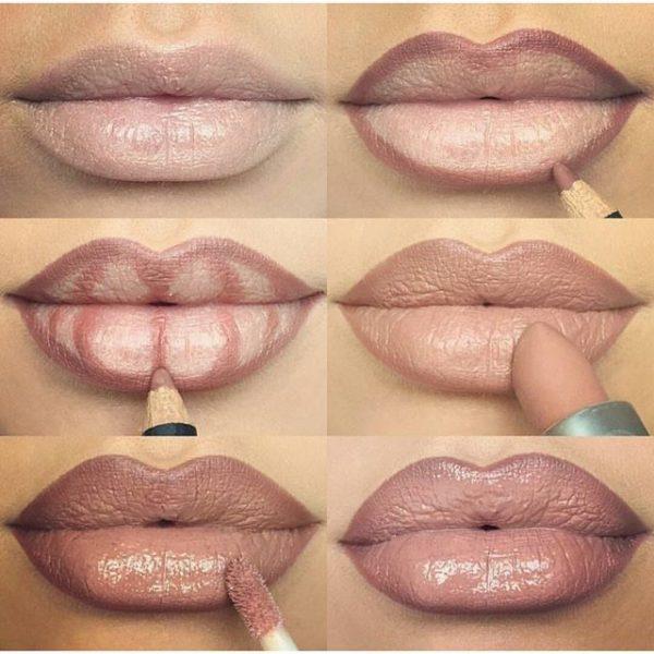 Lining lips