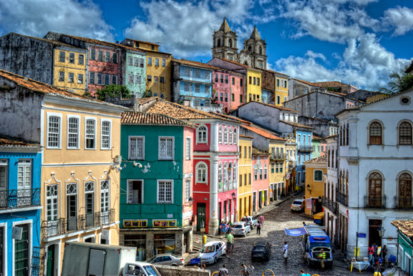 """Pelourinho"" in Salvador, Bahia"