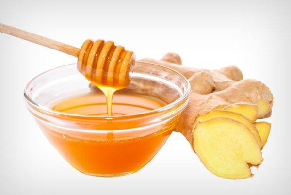 Honey with ginger juice