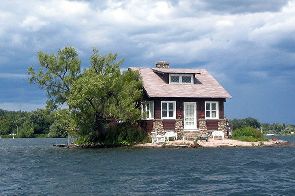 Little house on the island