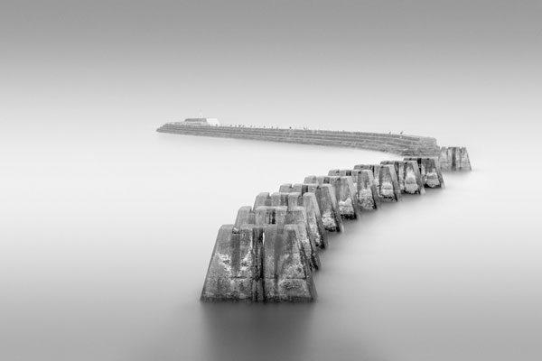 Railroad pillars