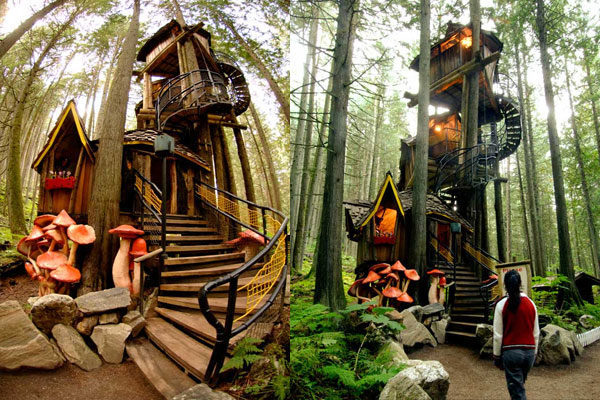 Haunted Forest Tree House