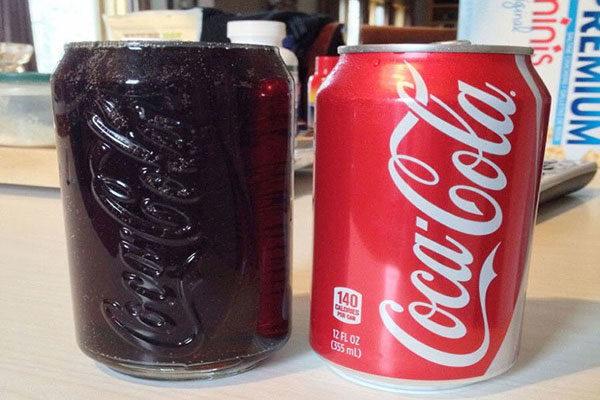A cold Coke