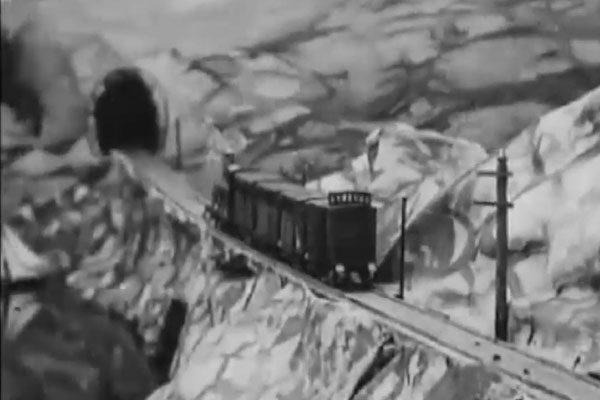 A railway collision